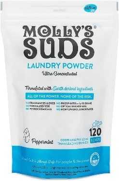 Molly's Suds Original Laundry Detergent Powder 120 load