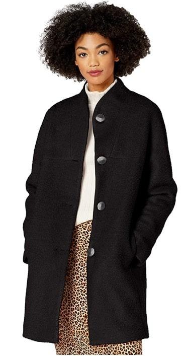 Kensie Women's Casual Wool Coat