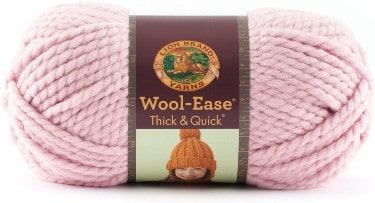 Lion 640-103D Wool-Ease Thick & Quick Yarn