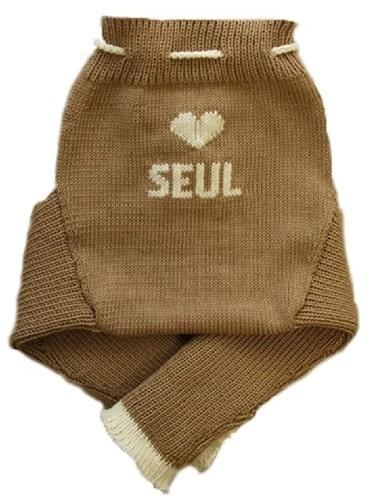 Tavira Personalized Merino Wool Baby Cloth Diaper Cover