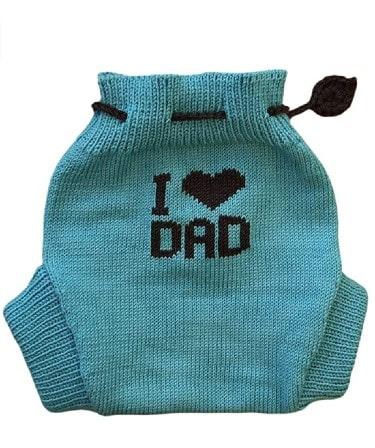 Tevirp Merino Wool Baby Knitted Soaker Diaper Cover